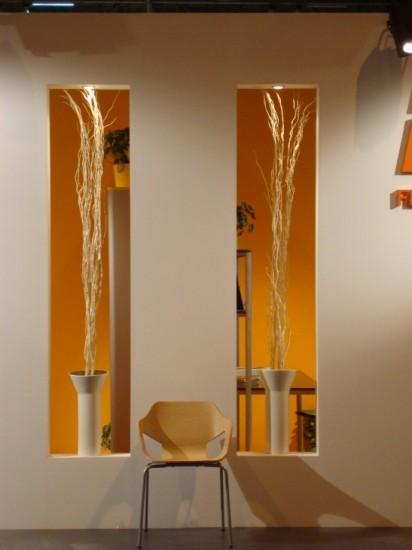 Detalle decorativo en stand Federico Giner