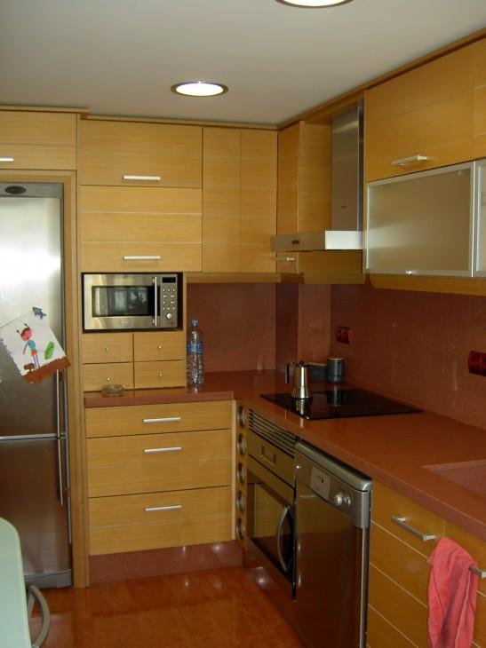Vista lateral cocina