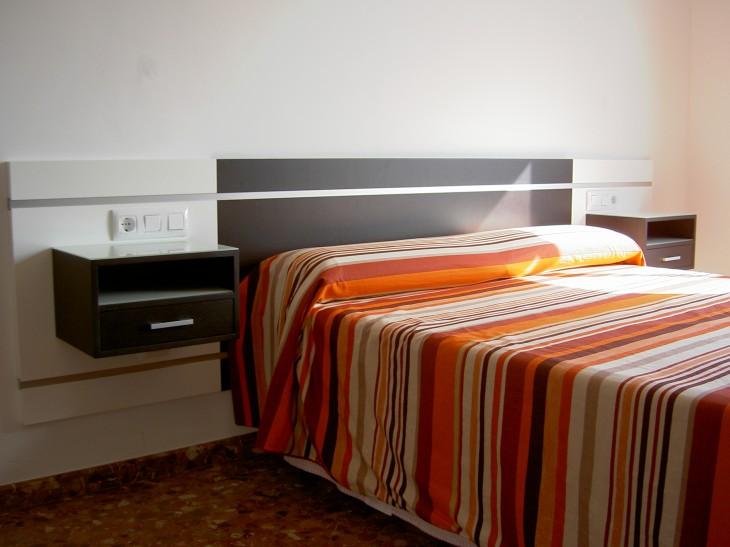 Cabezal para dormitorio principal