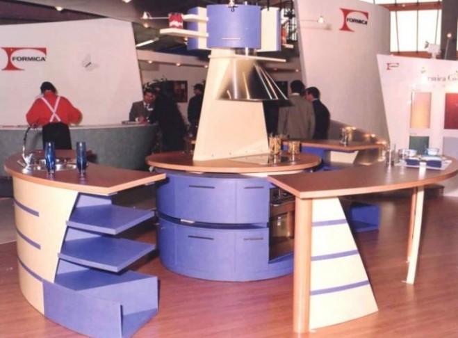 1º Premio Formica Creativa al diseño de una cocina con la aplicación de los materiales de la firma promotora del certamen.